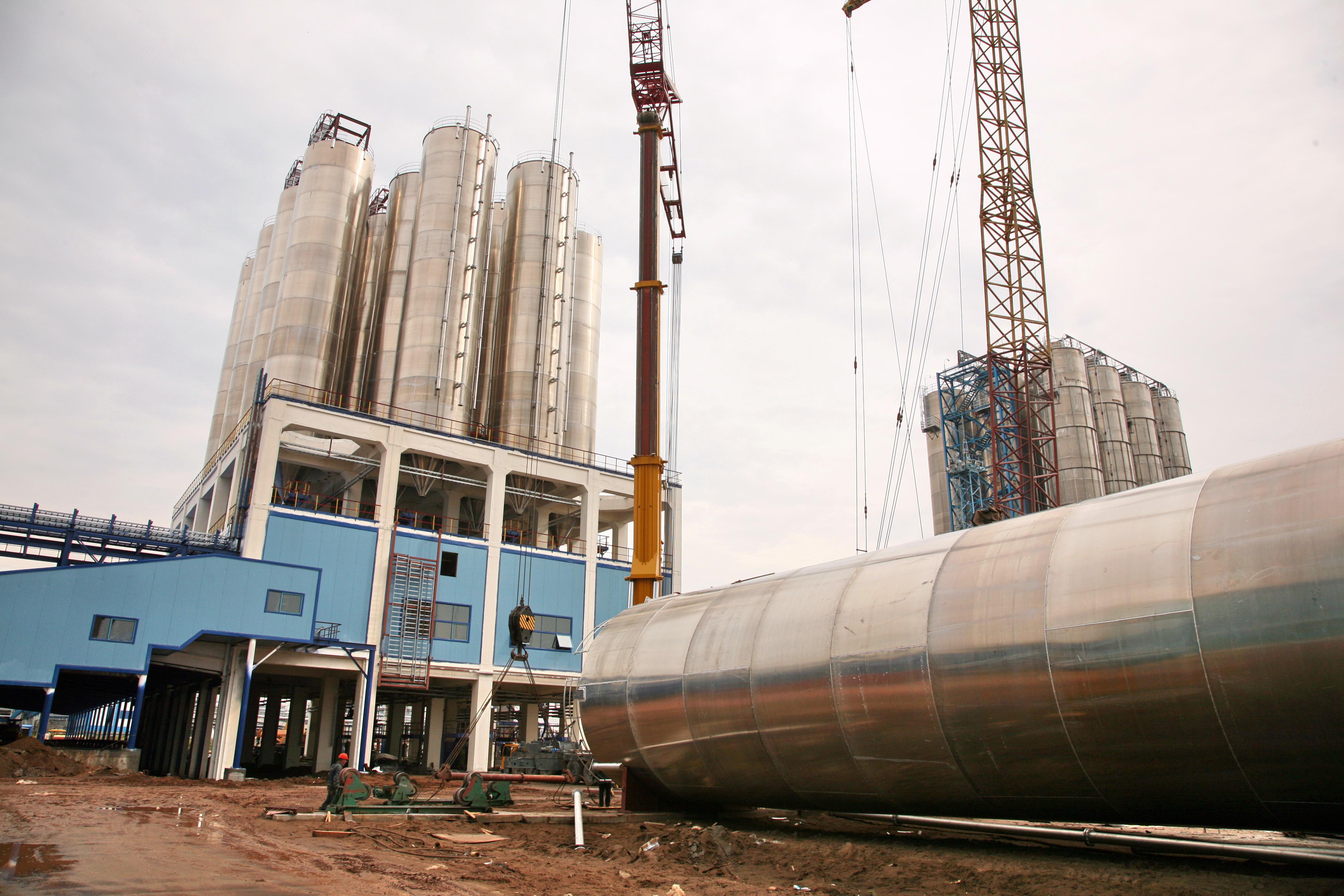 Строительство завода и производственных зданий в Тюмени