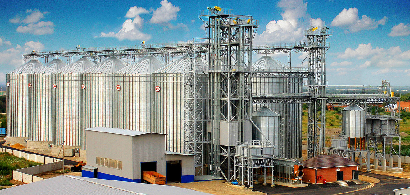 зерновой элеватор проект